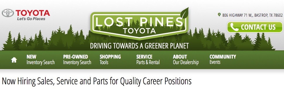 Lost Pines Toyota